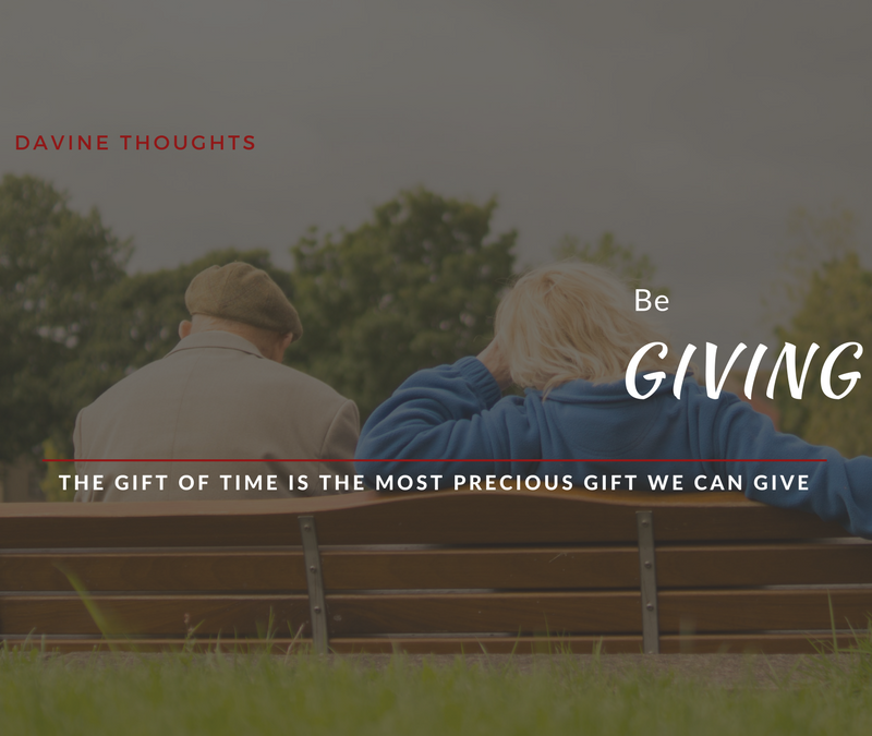Be Giving